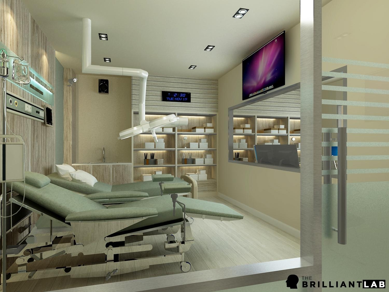 6. ออกแบบห้องทางการแพทย์